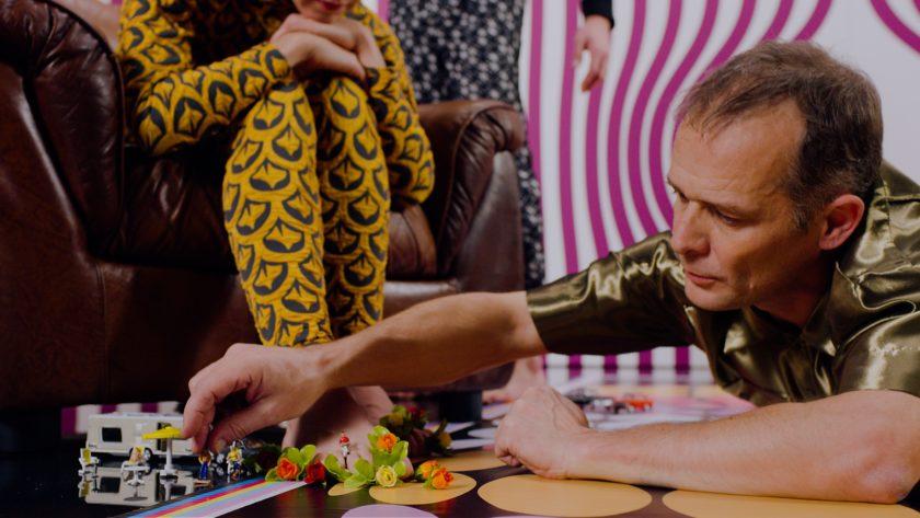 Gilles Jobin dans WOMB (film 3D)